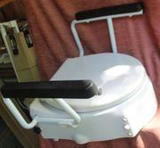 weiße Toilettensitzerhöhung Trendmobil TSE bis