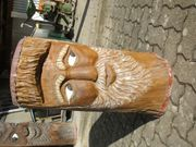 Holzschnitzer Figur