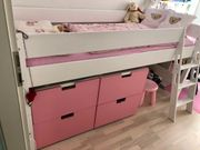 Kinder Hochbett mit 2 Ikea