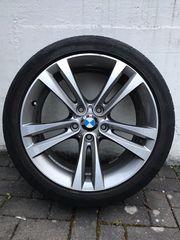 BMW 3er Sommerreifen auf Alufelgen