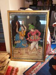 Indisches Bild tanzendes Paar