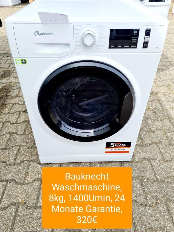 Bauknecht Waschmaschine 8kg 1400Umin