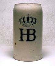 Alter Bierkrug Original HB 30er
