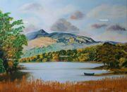Irland Acrylbild Malerei Kunst original