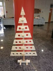Weihnachtsbaum Holz Tannenbaum Weihnachtsdeko Holzbaum