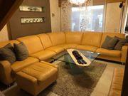 Echt Leder Couchgarnitur Eck Sofa