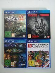 PS4 Spiele NEU