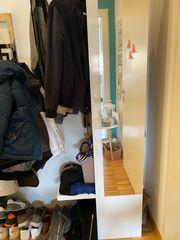 Garderobe Hochglanz weiß