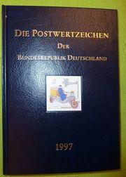 Briefmarkenjahrbücher BRD zu verkaufen