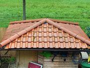 Dachziegel und Firstziegel
