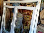 2flügliges weißes Kunststoff-Fenster von Denzlein