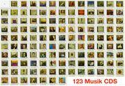 Musik CD 123 Stück oder