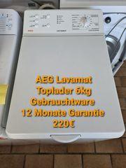 AEG Lavamat Toplader 6kg