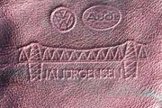 Altes VW Audi Schüsseletui Schlüsselanhänger