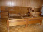 Bettenanlage fürs Schlafzimmer 2 Bettgestelle