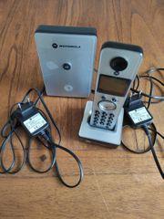 Motorola - Digitales schnurloses Telefon - strahlungsreduziert