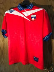 Original Fußball-Trikot National-Team Chile WM