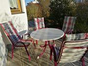 Gartentisch und 4 Stühle