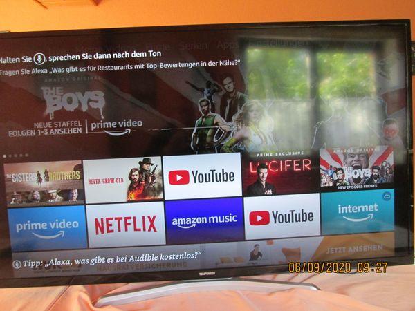 Telefunken Smart TV 55 Zoll