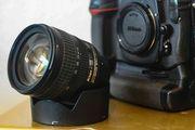 Nikon D300 MB-D10 Batteriegriff AF-S
