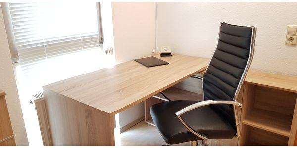 Schreibtisch Kommode Bürostuhl im Set