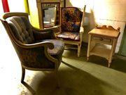 lounge-sessel spiegel kästchen