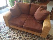 Sofa aus Rattan - Zweisitzer in