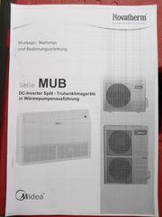 Klimaanlage Wärmepumpe Split-Inverter Gerät