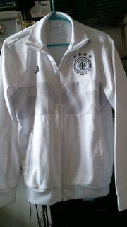 Orig DFB Sportjacke weiss Gr