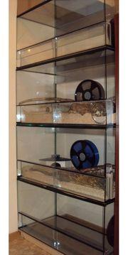 Glas terrarium Nagarium Kleintier käfig