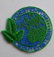 Gestickte FL-Briefmarke PET Recycling Embroidered