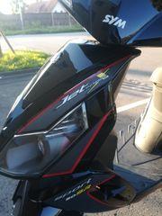 Neuwertigen Roller Sym Jet 50