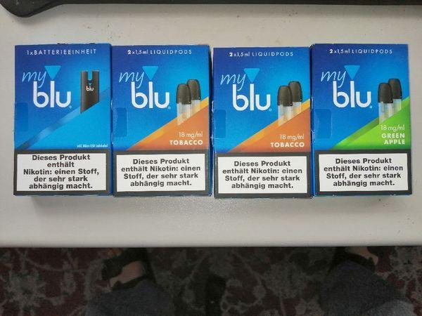 Myblu E-Zigarette und Liquidpods