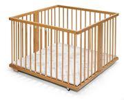 Kinderbett und Laufstall