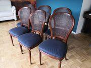 6 schicke bequeme Stühle in