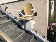 Treppenlift - Secon gerade Treppen