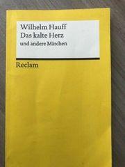 Schulbuch deutsch Das kalte Herz