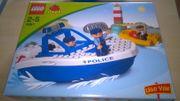 Lego duplo Polizeiboot 4861