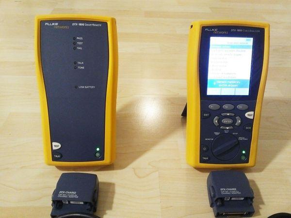 Fluke DTX-1800 CableAnalyzer SmartRemote