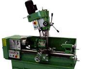 Drehmaschine und Fräsmaschine für Metall