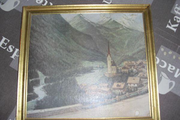 Kunstdruck Heiligenblut nach vorlage Gemälde