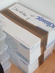 12 Kartons ideal zum Umzug