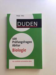 Duden 100 Prüfungsfragen Abitur Biologe