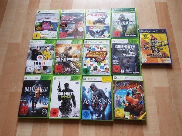 12 X - Box 360 Spiele
