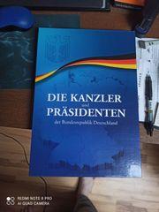 Münzsammlung Kanzler Präsidenten der BRD