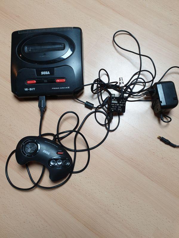 Sega Mega Drive Konsole Retrokonsole