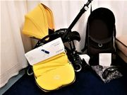 Bugaboo Bee 5 gelber Kinderwagen