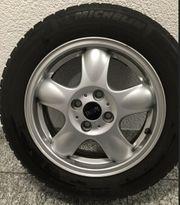 Original MINI-Felgen auf Michelin Reifen
