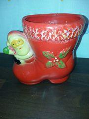 Vase Blumentopf Nikolaus