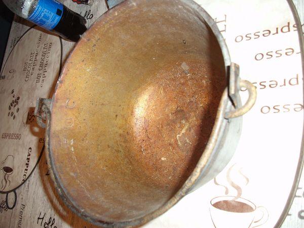 ACHTUNG Weihnachtsgeschenk Antiker Kupfer Kessel